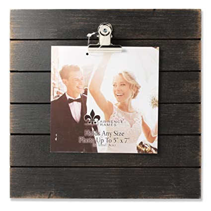 Amazon Lawrence Frames Weathered Wood Frame Picture 9 X 9