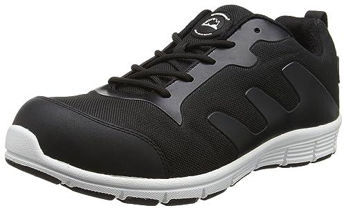 Groundwork GR95 C - Zapatos de Seguridad de Lona Hombre, Color Negro, Talla 41
