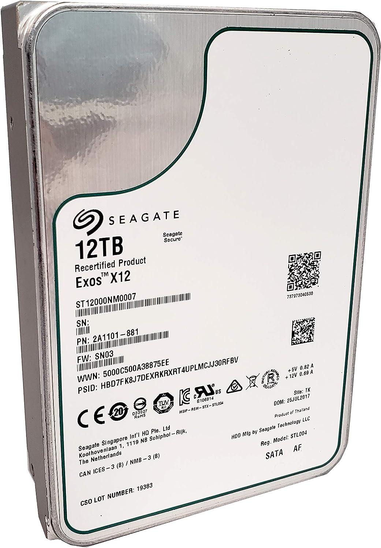 Seagate Exos 12tb Interne Festplatte Enterprise Hdd Computer Zubehör