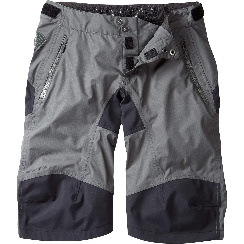 Madison DTE Damens& 039;s Waterproof Shorts Grau Größe 8