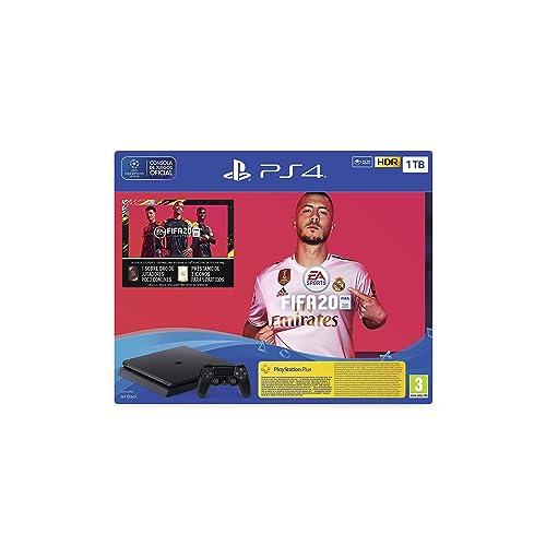 PlayStation 4 PS4 FIFA20 FUTVCH PS y 14 días VCH PS4 1TBF SPA Slim 1TB