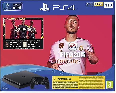 PlayStation 4 (PS4) +FIFA20/FUTVCH/PS y 14 días VCH/PS4 1TBF ...