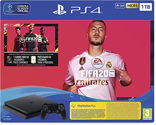 PlayStation 4 (PS4) +FIFA20/FUTVCH/PS y 14 días VCH/PS4 1TBF/SPA, Slim 1TB: Sony: Amazon.es: Videojuegos