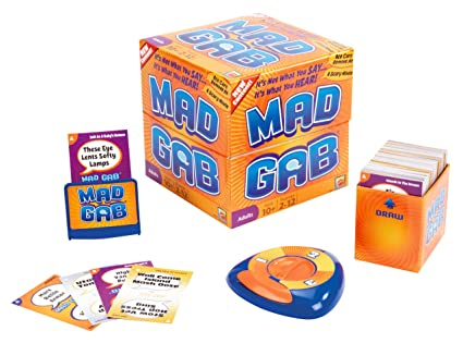 Amazon Mad Gab Game Toys Games
