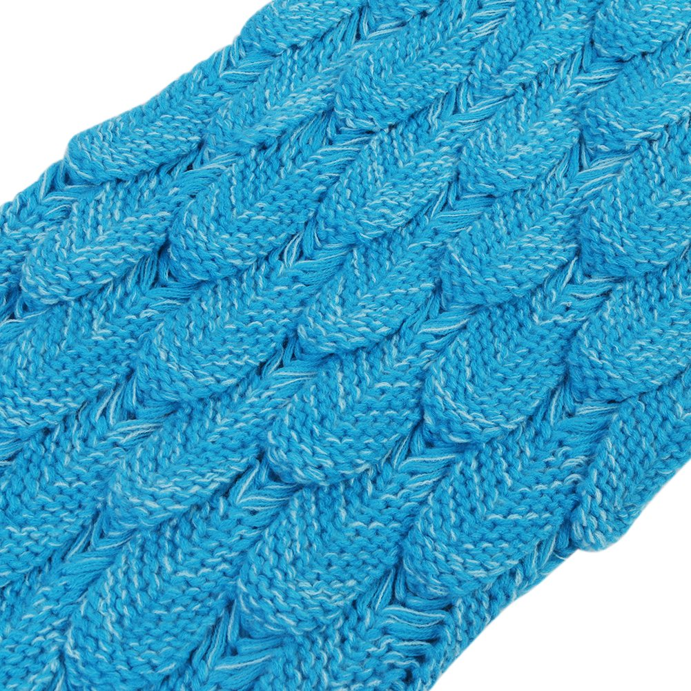 Airdom Mermaid Tail Blanket for Kids Toys Little Crochet Mermaid Blankets Best Birthday for Girls All Seasons Sleeping Throws 55.18 inch x 27.56 inch(A-Scaly-Kids-Blue) by Airdom (Image #8)