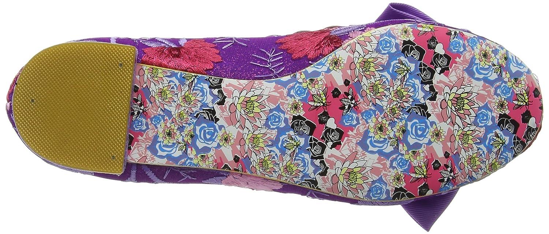 Irregular Choice Damen Purple Sulu Pumps, schwarz Purple Damen (Purple Floral) 7548d5