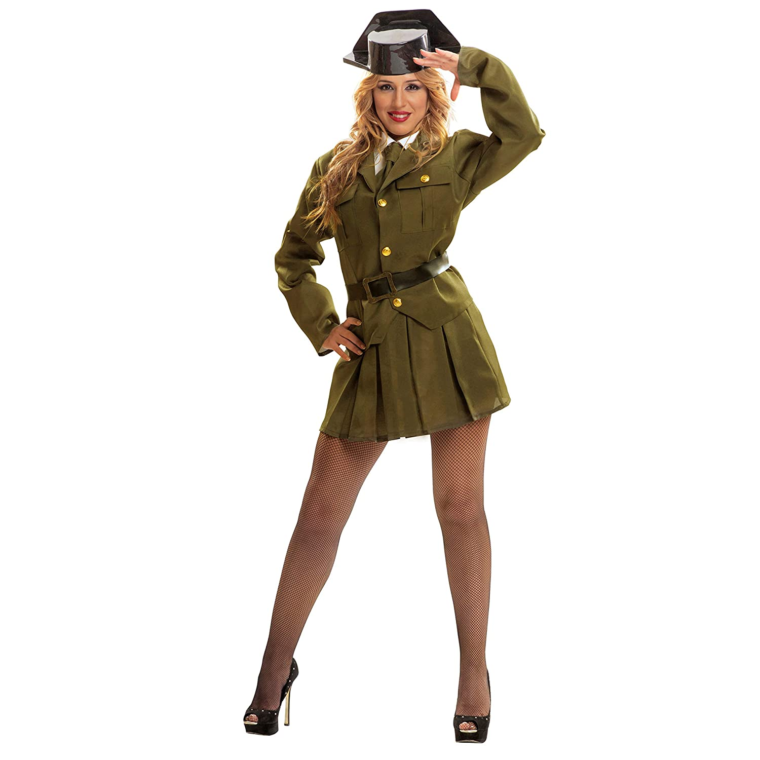 My Other Me Me - Disfraz de Guardia civil para mujer, talla ML (Viving Costumes MOM00984)