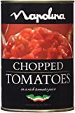 Napolina Chopped Tomatoes 400 g (Pack of 12)