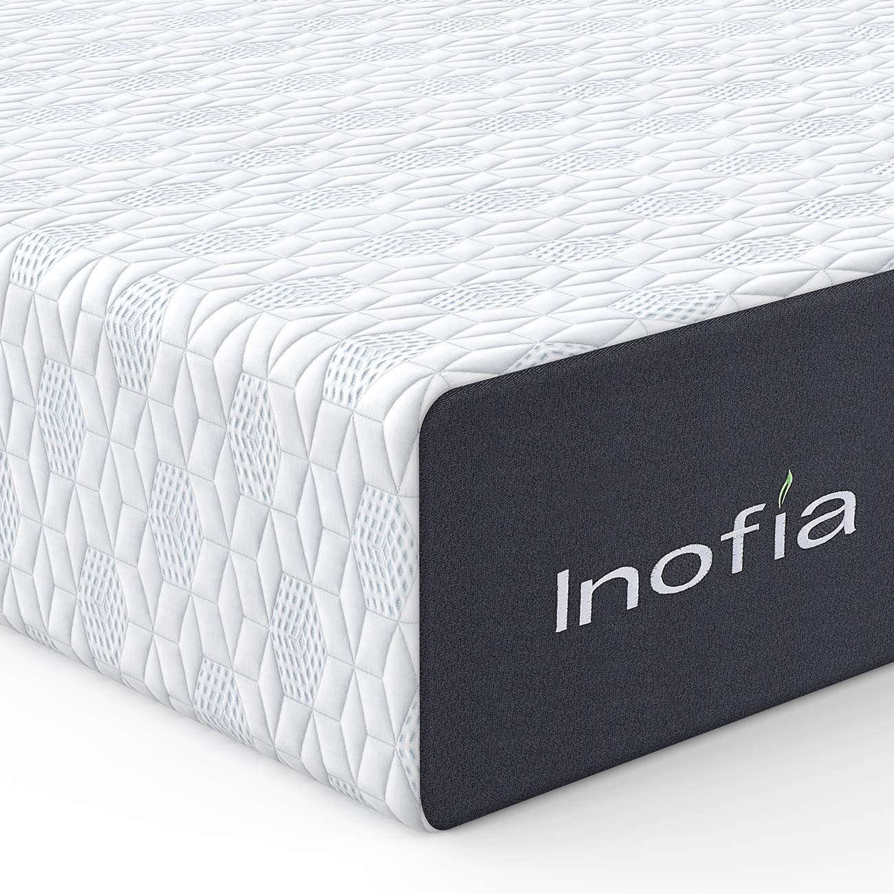 Queen Mattress, Inofia 12 Inch Responsive Memory Foam Mattress in a Box, Sleep Cooler with More Pressure Relief & Support, CertiPUR-US Certified, 100 Nights Trial, 10 Years Warranty
