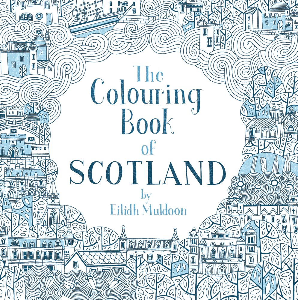 The Colouring Book of Scotland (Colouring Books): Amazon.co.uk ...