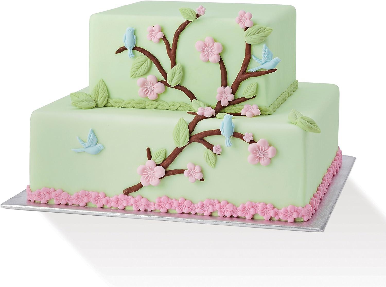 Vogel und Blume Silikon Fondantform Kuchen Dekor Werkzeuge Gumpaste Schimmel*SI