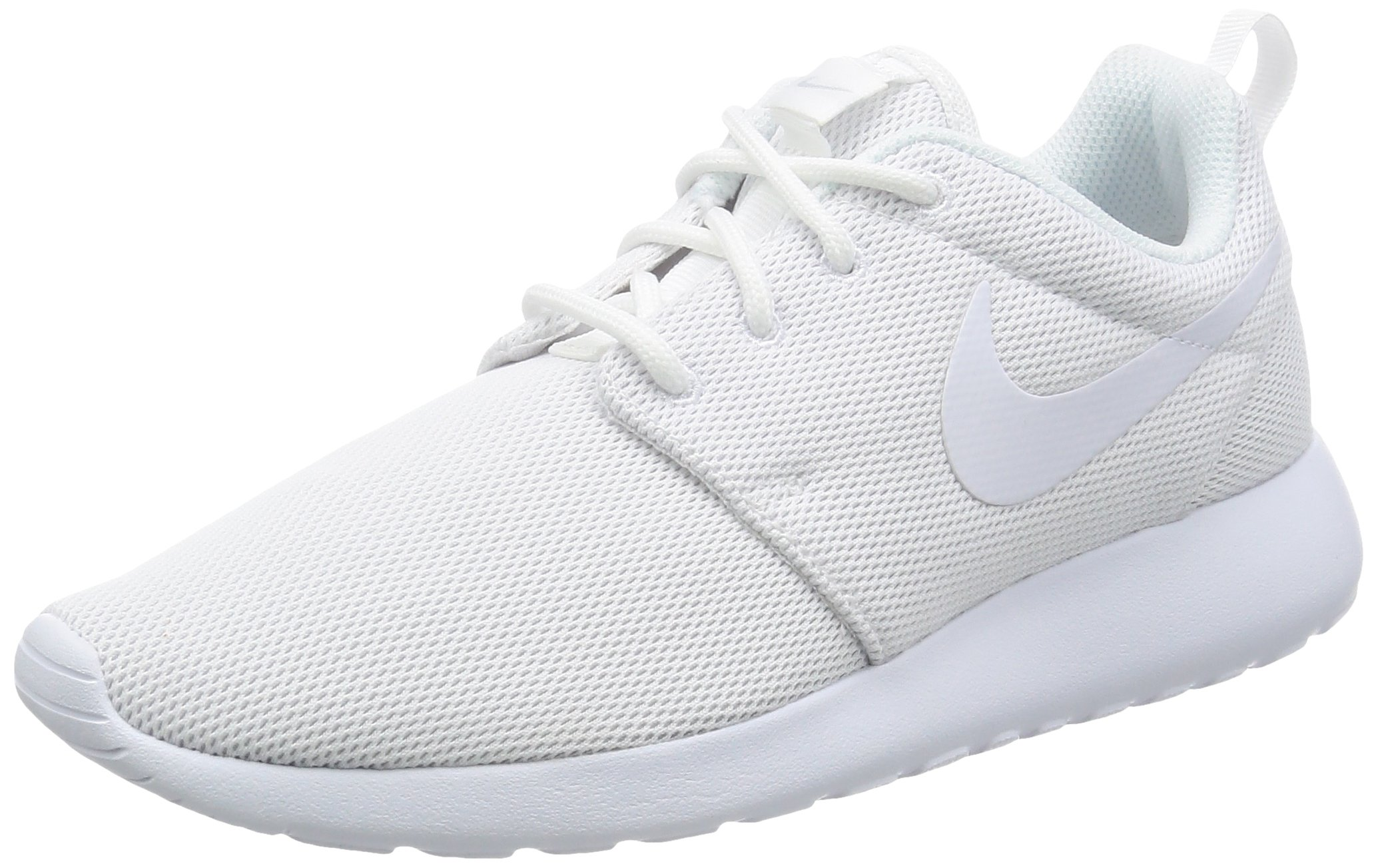 separation shoes c3445 25f38 Galleon - Nike Womens Roshe One White White Pure Platinum Running Shoe 8.5  Women US