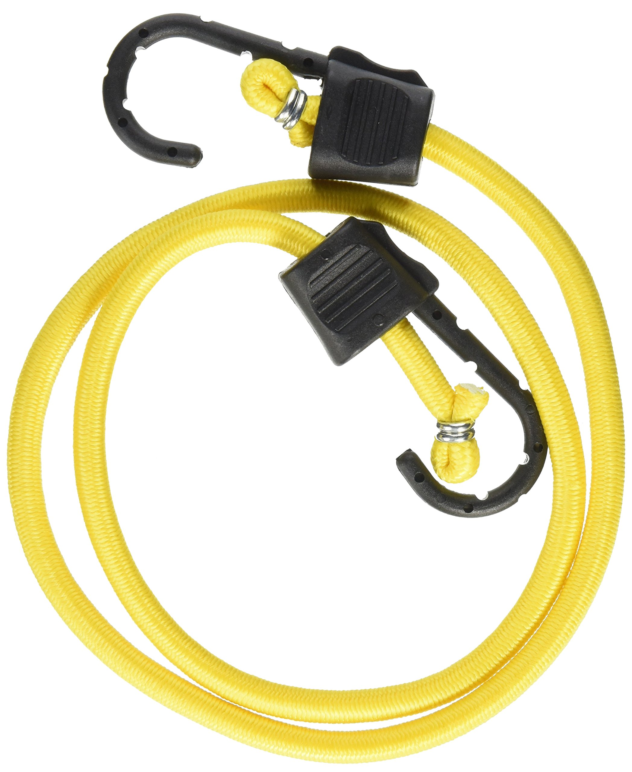 RoadPro RPJS-HD40 40'' Heavy Duty Stretch Cords with Anti-Scratch Hooks, (Pack of 2)