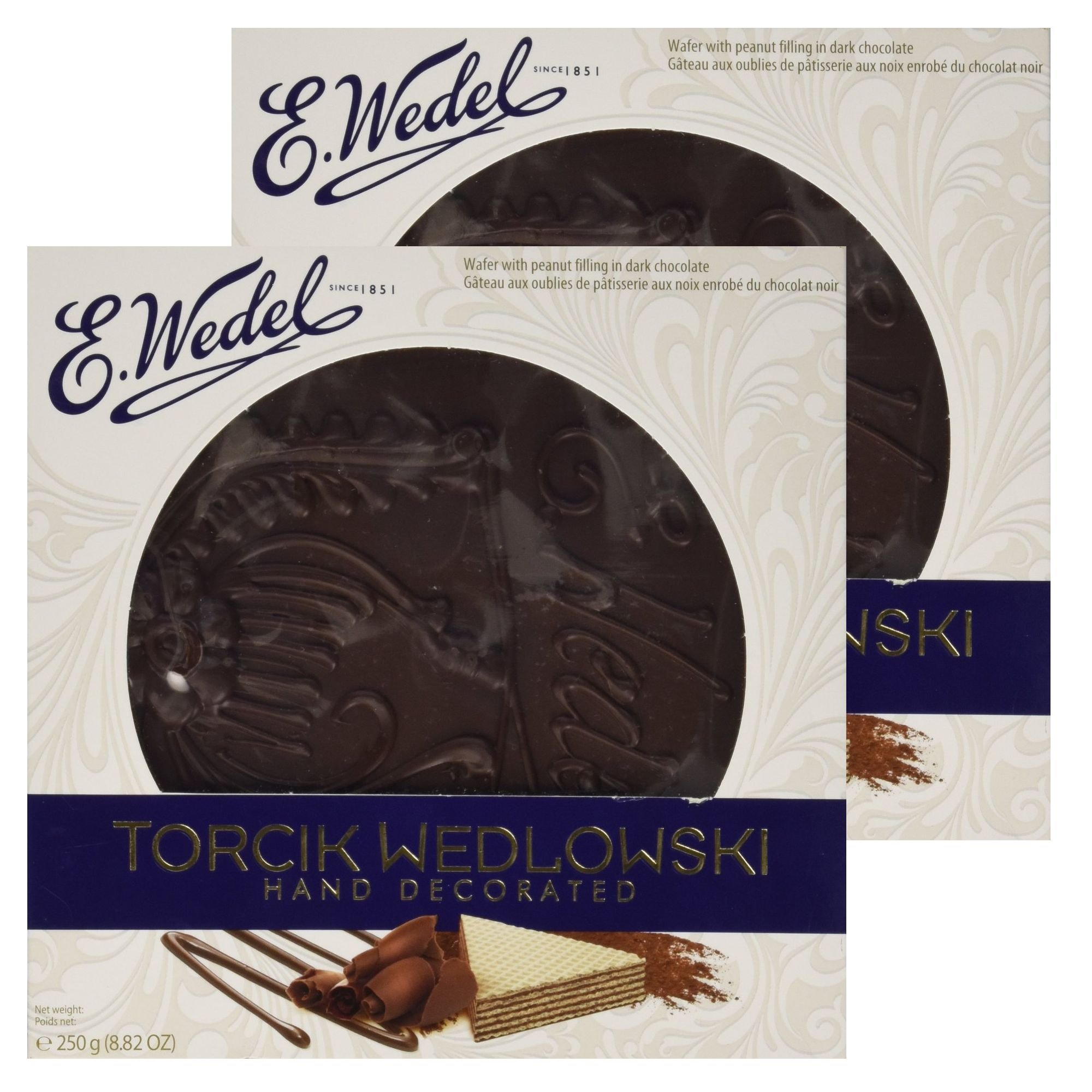 E.Wedel - Torcik Wedlowski / Wafer Cake (250g / 8.8 Oz) (Pack of 2)