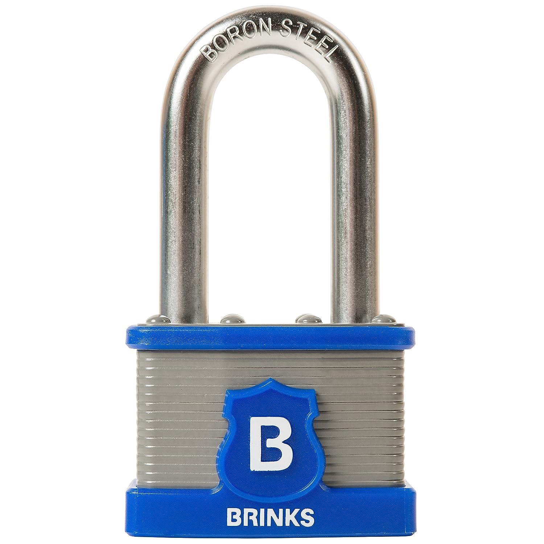 Brinksホームセキュリティ677 – 52201 50 mm Commercialラミネートスチール南京錠、Boronスチールシャックルキー、2 Pack、alikeすべて B01F4RX3ES