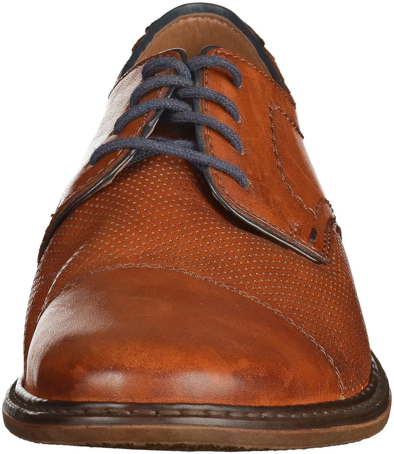 Rieker Rieker Rieker 13428-24 Obermaterial Leder, Zapatos de Cordones Derby para Hombre 37d638