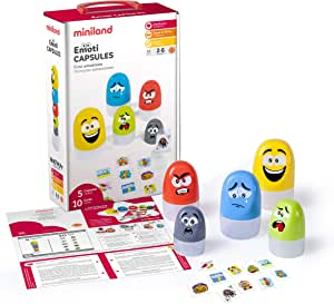 Miniland Educational - Emoti Capsules Playset for Kids