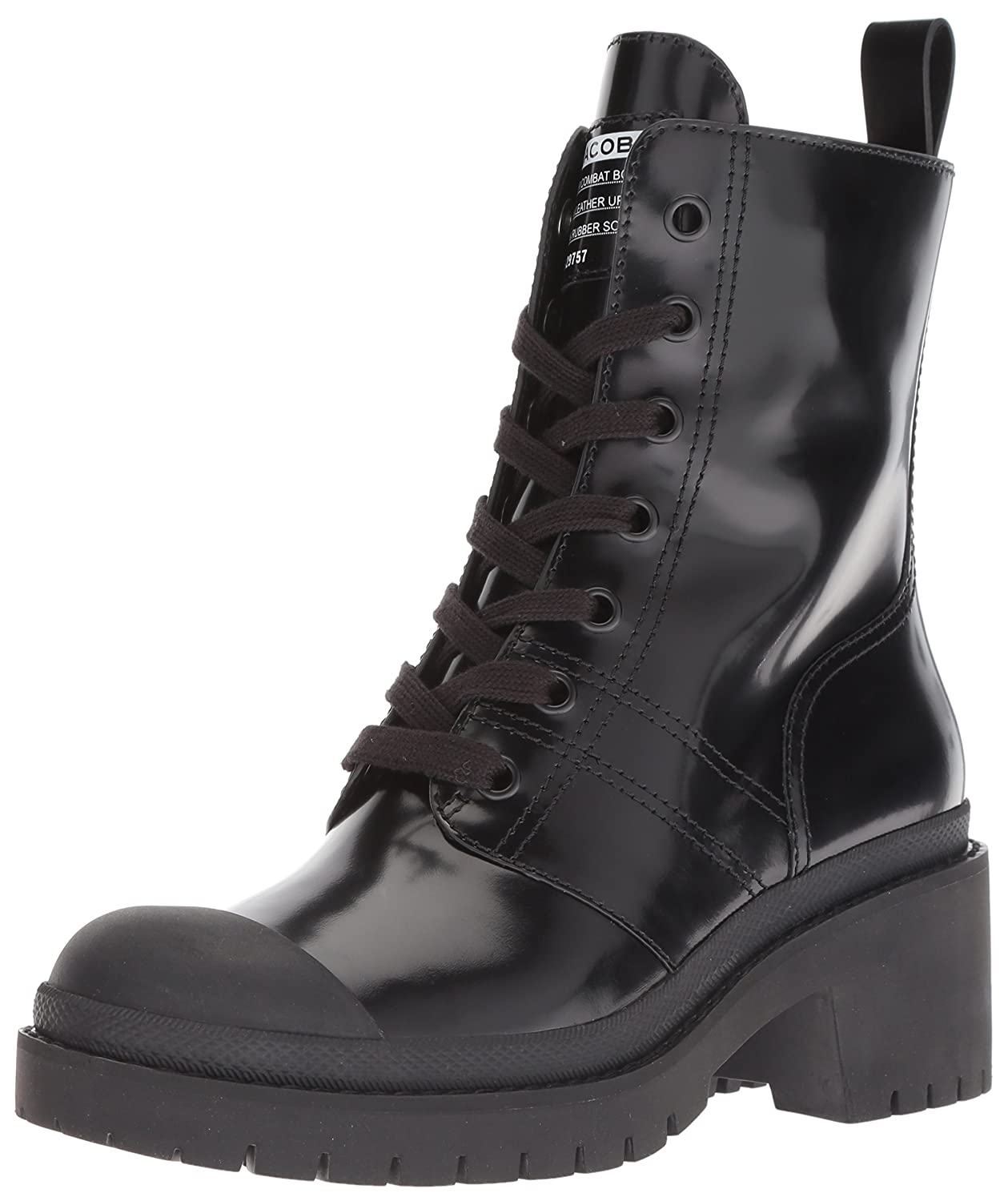 Marc Jacobs Women's Bristol Laced Ankle Boot B0787DSXRJ 37 M EU (7 US)|Black 001