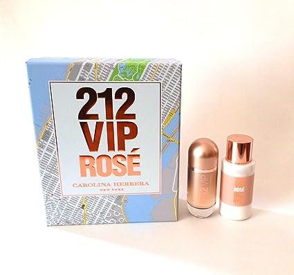 Carolina Herrera - Estuche de regalo Eau de Parfum 212 VIP Rosé: Amazon.es: Belleza