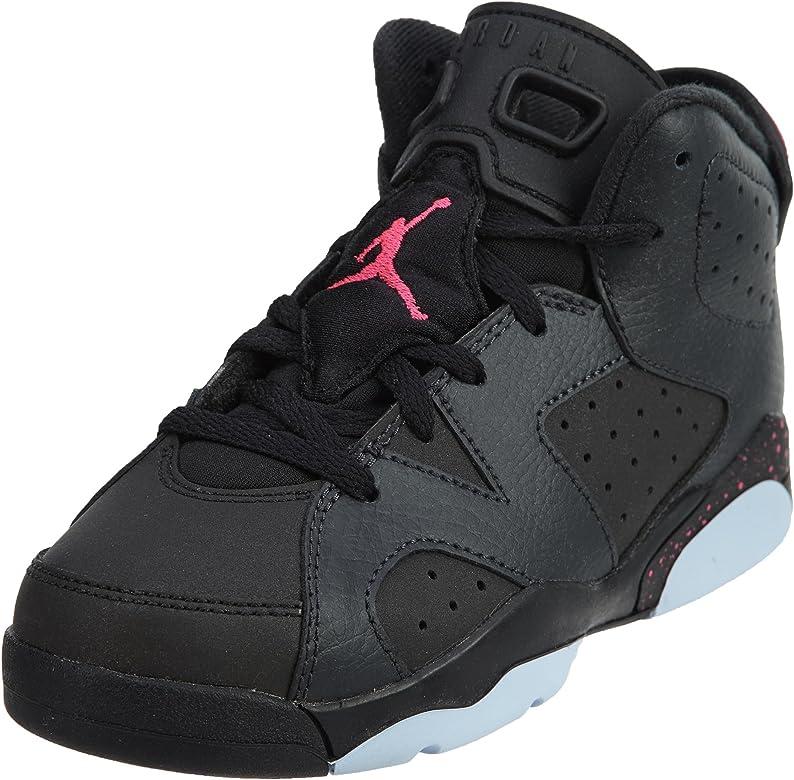 e6691dd56c7c4a Jordan Retro 6 quot Hyper Pink Anthracite Black Hyper Pink (Little Kid)