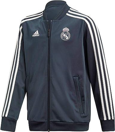adidas Real Madrid Polyester Jacket Chaqueta, Niños: Amazon.es ...