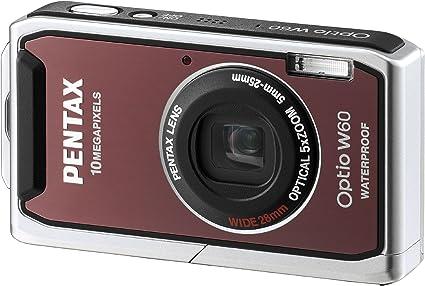 Pentax Optio W60 Digitalkamera 2 5 Zoll Pink Kamera