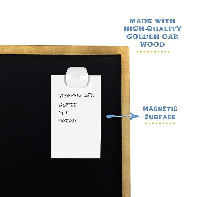 Amazon.com: Pizarra magnética de acero de porcelana con ...