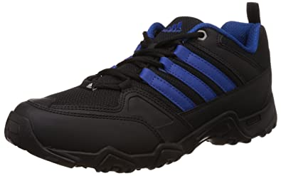 adidas Mens Glimph Black and Blue Multisport Training Shoes