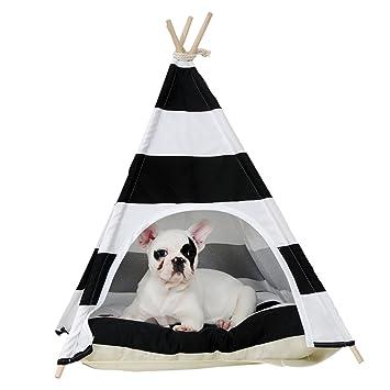 han-mm – Casa Mascotas Cama Gato Cama mascotas casa perro portátil tiendas mascota casa