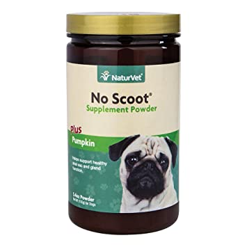 naturvet no Scoot polvo para perros, 155 mm