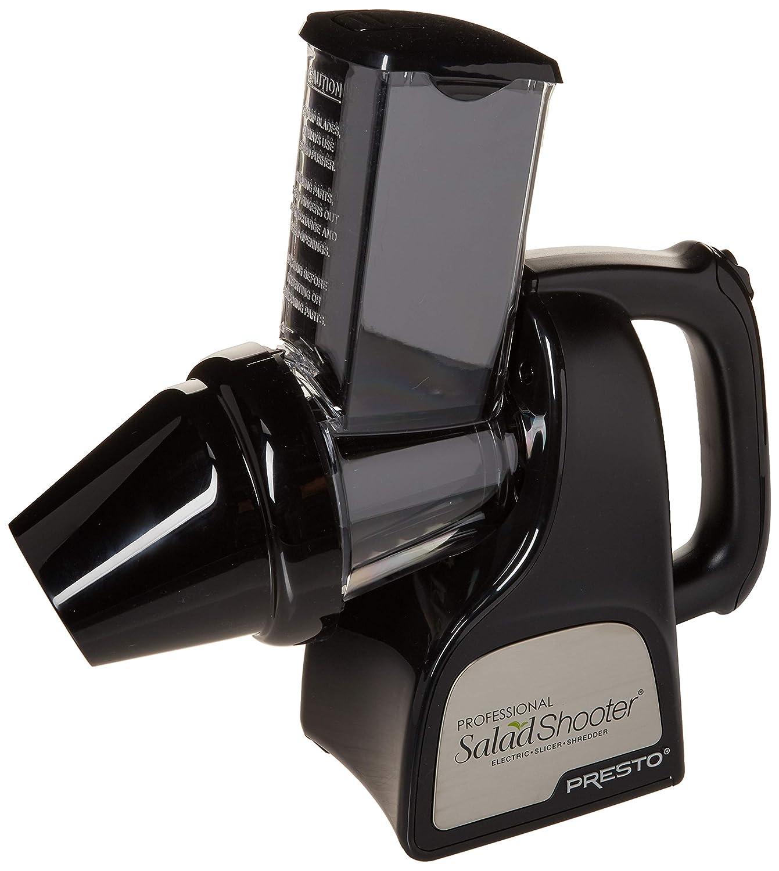 Presto 02970 Professional SaladShooter Electric SlicerShredder White