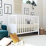 Signature Sleep Signature Sleep Honest Natural Wool Crib Mattress with Organic Cotton, Latex Infused Coconut Fibers…