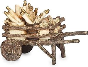 Fontanini - Cart of Scrolls, for 5