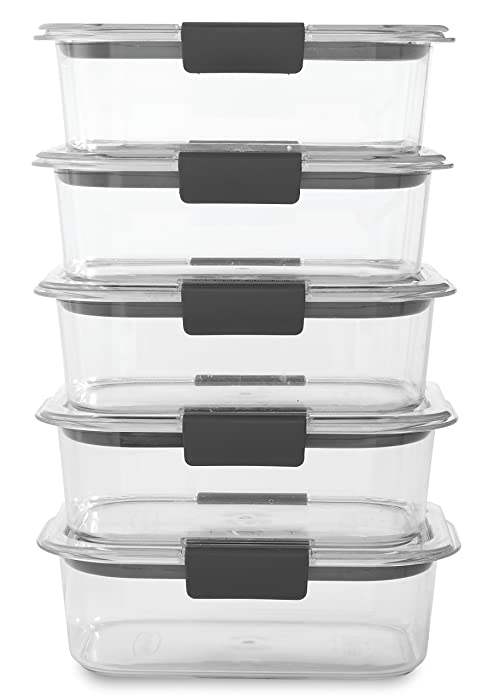 The Best Rubbermaid Brilliance Food Storage Container Clear