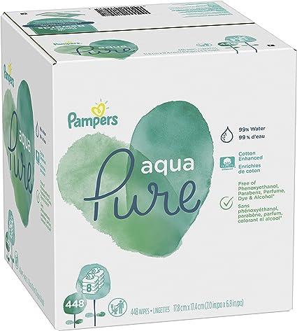 Amazon.com: Pampers Sensitive Toallitas húmedas a base de ...