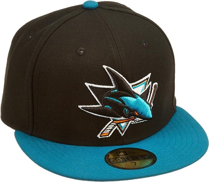 New Era Gorra Adultos NHL San Jose Sharks Basic Gorro 59Fifty Team ...