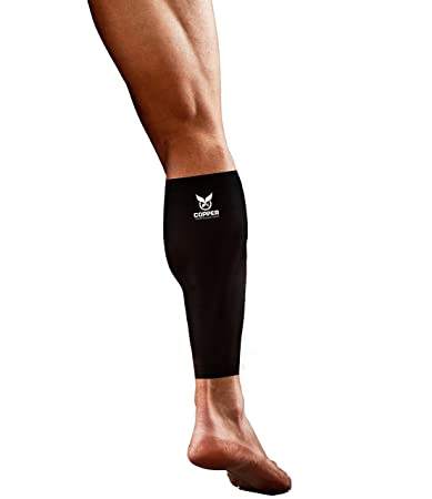 cce1c782fd Copper Compression Gear PREMIUM Fit Recovery Calf/Leg Support Sleeves -  GUARANTEED To Speed Up