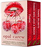 Three Happy Endings Boxed Set (Secrets, Surprises, and Submission)
