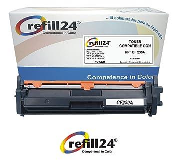 CF230A Cartucho de Toner Compatible CF230A HP 30A con Chip ...