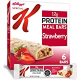 Special K Protein Meal Bars, Strawberry, 9.5 Ounce (6 Count)