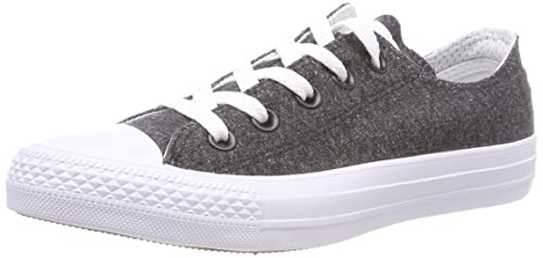 cc599e4e623a6 Converse Unisex Adults' CTAS Ox Black White Trainers