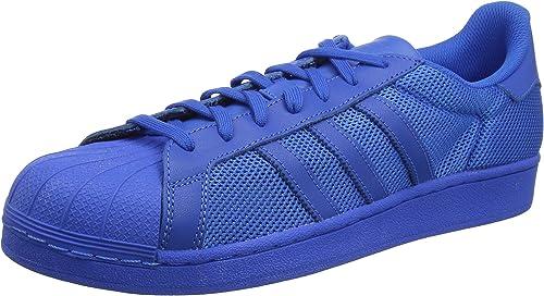 adidas bleu noir superstar