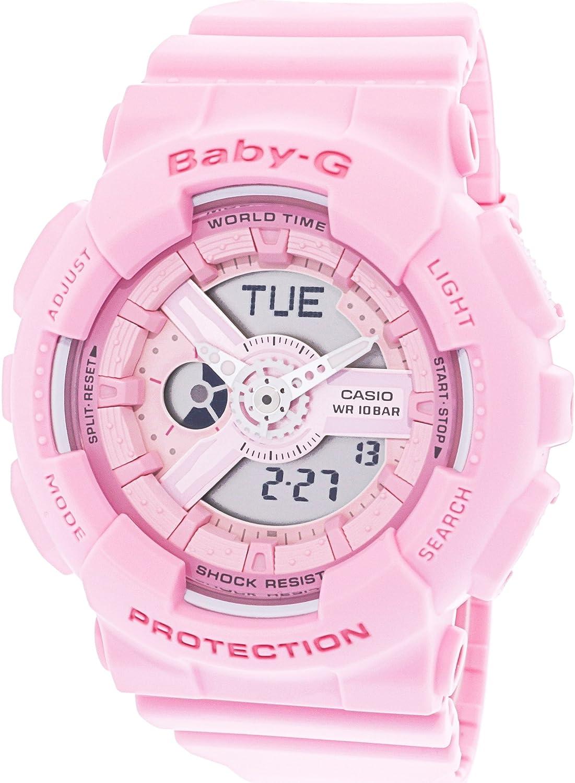 Casio Womens Baby G Ba110 4a1 Matte Pink Polyurethane Ba 112 4a Japanese Quartz Sport Watch Watches