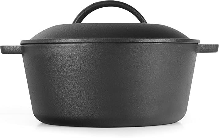 Westinghouse WFL545 Select Series Seasoned Cast Iron 5 Quart Dutch Oven