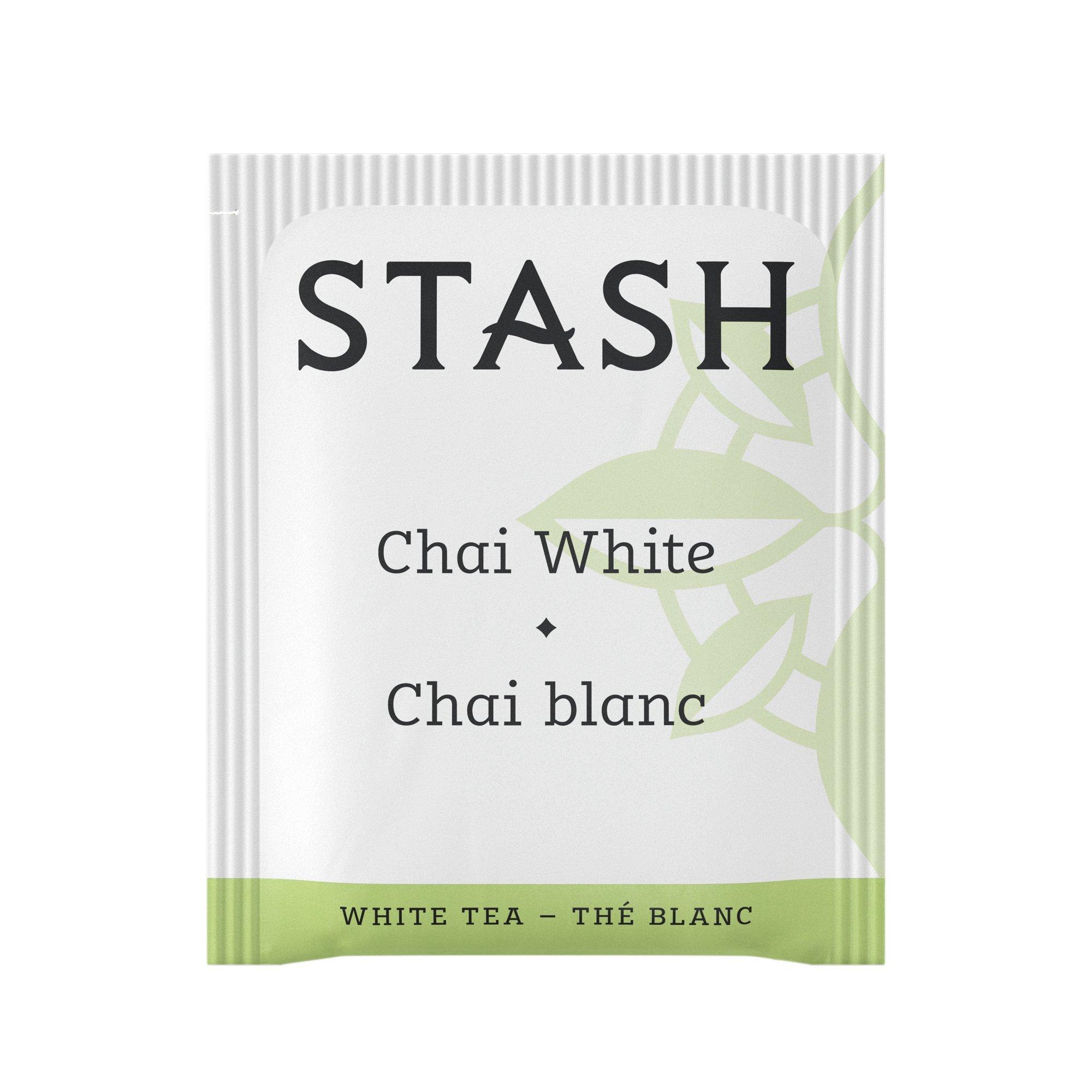 Stash Tea White Chai Tea 1000 Count Tea Bags in Foil Individual Spiced White Tea Bags for Use in Teapots Mugs or Cups, Brew Hot Tea or Iced Tea by Stash Tea (Image #3)