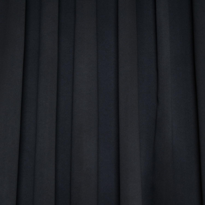 Amazon.com: Black Rod Pocket Energy Saving Thermal Insulated ... for Black Curtains Texture  83fiz