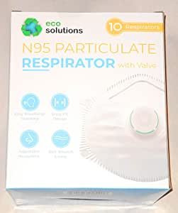 Eco Solutions N95 Respirator with Valve