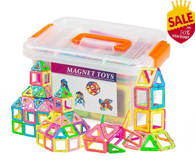 Amazon Wokashaka Magnetic building Blocks 64 PCS Kids