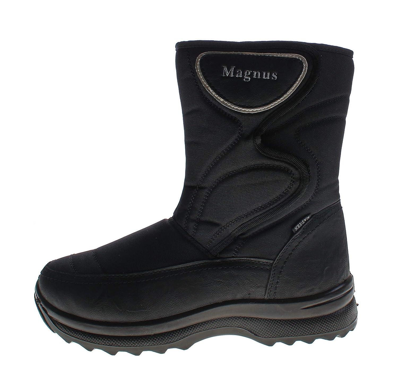 Herren Winter Stiefel warm gefüttert Schuhe KAT TEX Outdoor Boots Klettverschluss Gr. 40 46