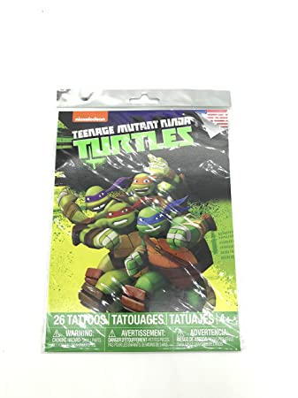 Amazon.com: Teenage Mutant Ninja Turtles Tattoos!: Health ...